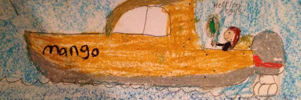 Mango as illustrated by Allyah Starr, Bella Bella Community School