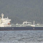 Risanger shipping condensate into Kitimat for transport to tar sands