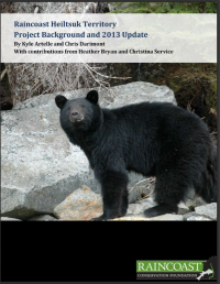 Three seasons of bear research-cover