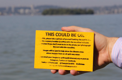 Oil cards expected to wash up along Richmond's shores