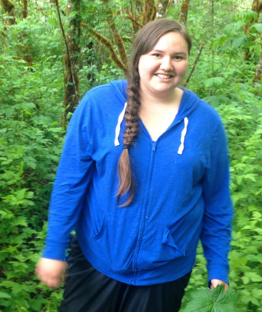 Ayla Brown - Raincoast field technician.