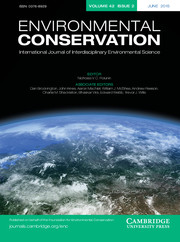 Environmental Conservation cover