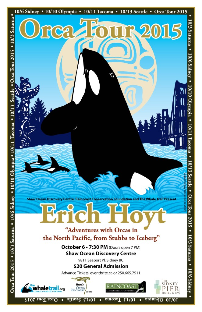 Orca Tour 2015 Eric Hoyt event poster