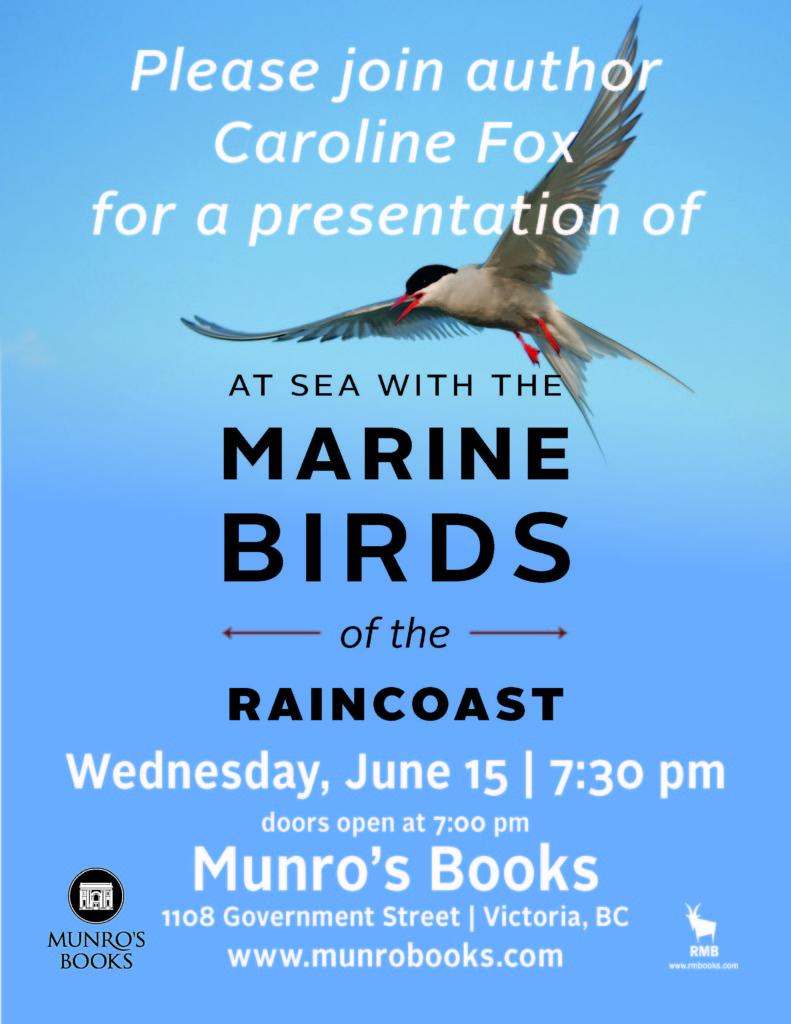 Marine Birds Event Poster Munro's Bookstore