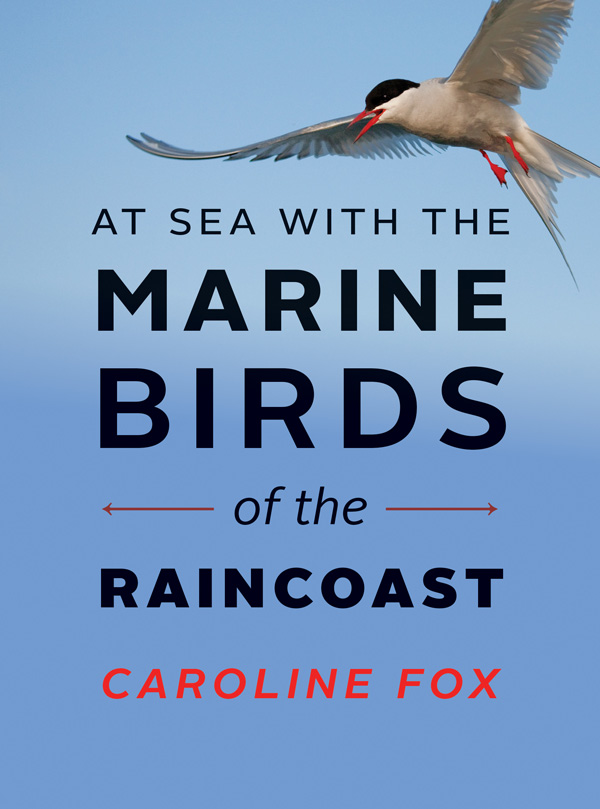 At Sea with the Marine Birds of the Raincoast