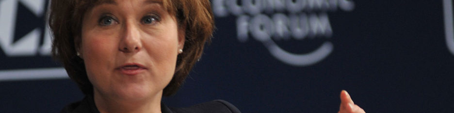 Christy Clark at the World Economic Forum in India in 2011