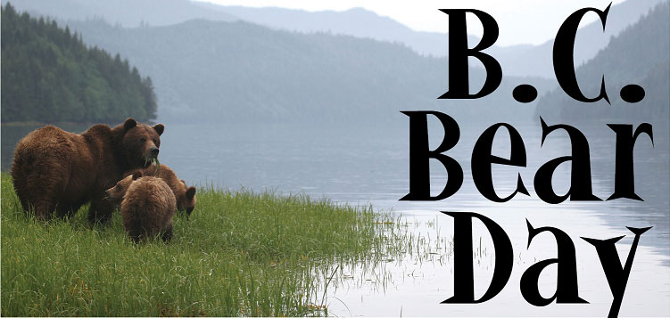 BC Bear Day, April 1