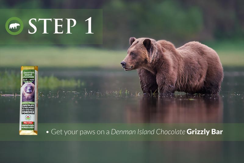 Step 1: Get your paws on a Grizzly Bar