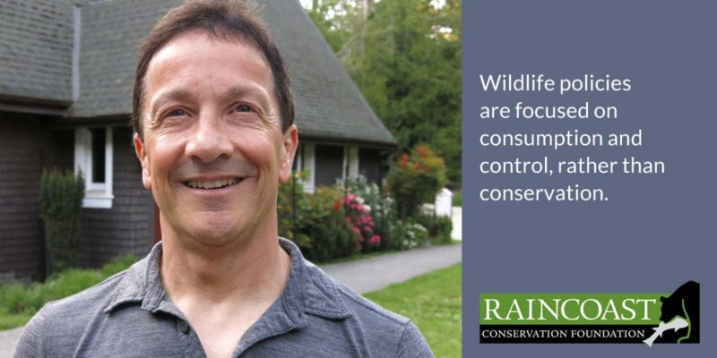 Chris Genovali: let's rethink wildlife management.