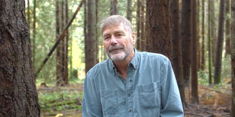 Brian Falconer sits in the Great Bear Rainforest to speak to key elements of securing commercial hunting tenures in the GBR.