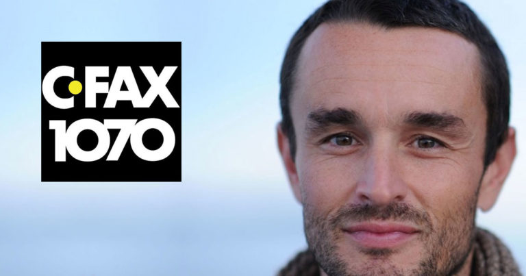 Chris Darimont interviewed on CFAX 1070 about political populations