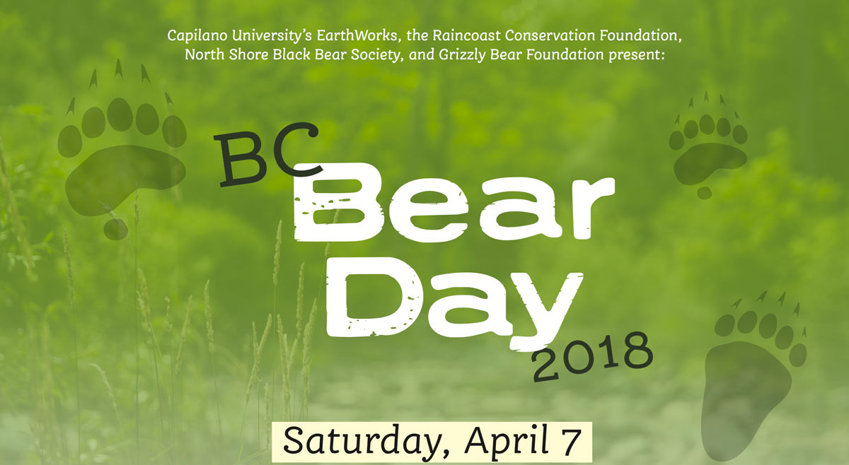 BC Bear Day 2018, April 7