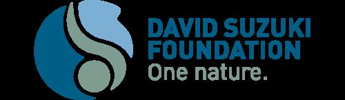 David Suzuki Foundation logo: One nature.