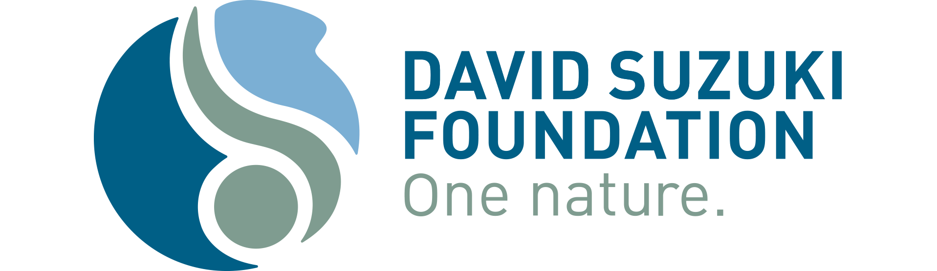 David Suzuki Foundation logo: One nature.