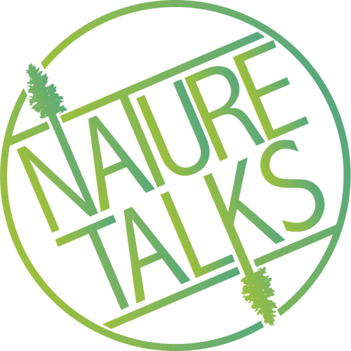 Nature Talks logo, by Spinnakers.