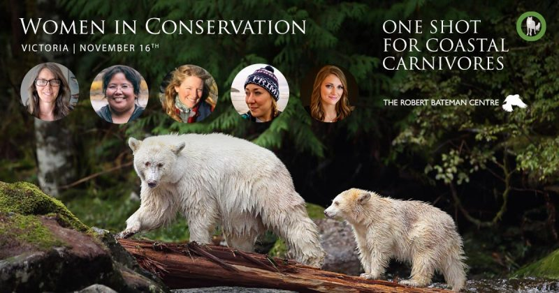 Women in Conservation, One Shot for Coastal Carnivores.