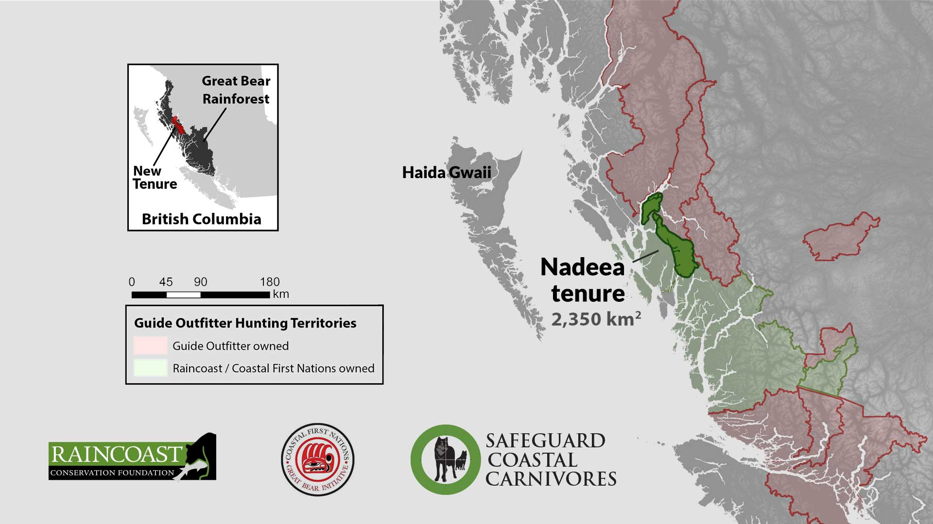 A map of the Nadeea tenure announcing the