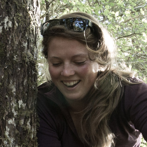 Christina Service, with the Applied Conservation Science Lab at UVic.