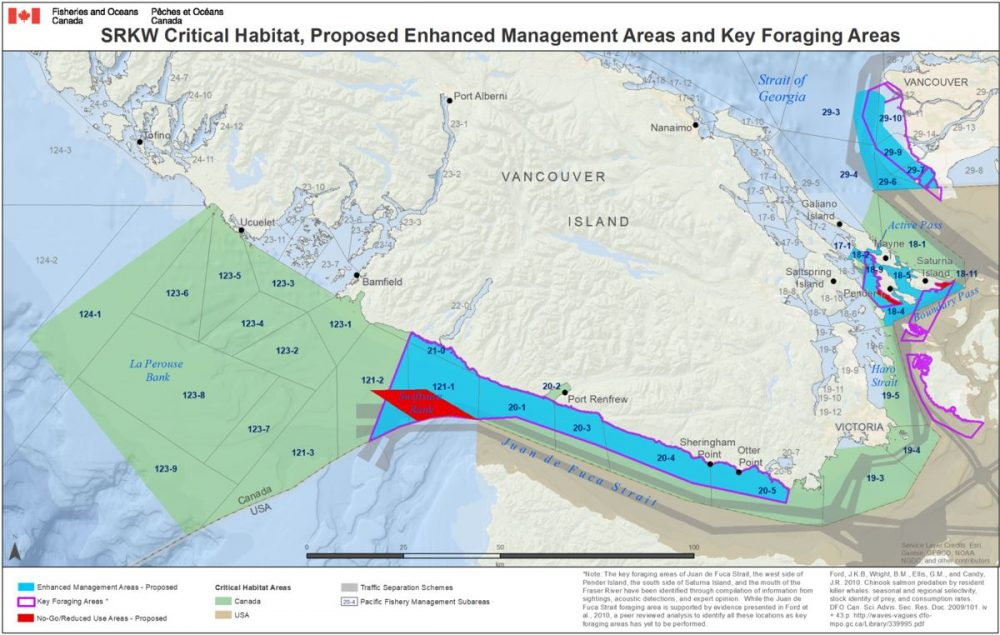 Save The Whales Take Action Raincoast Conservation Foundation - No-go-zones-in-us-map