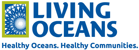 Living Oceans logo: Healthy oceans. Healthy communities.
