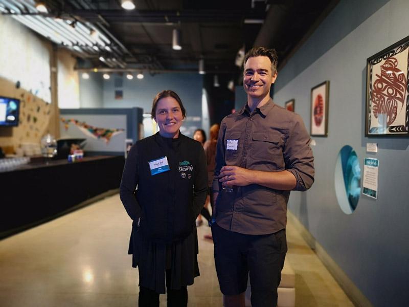 Mentors for the Salish Sea Emerging Stewards program.