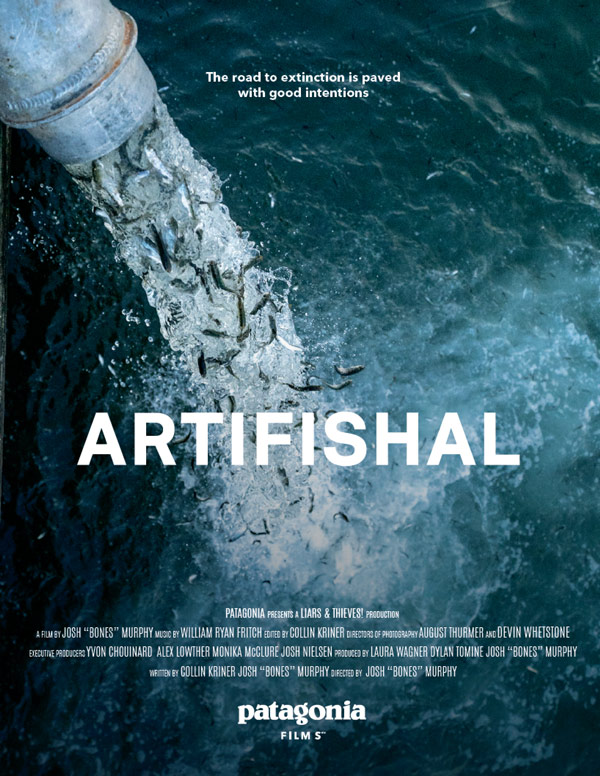 Poster for Artifishal, by Patagonia.