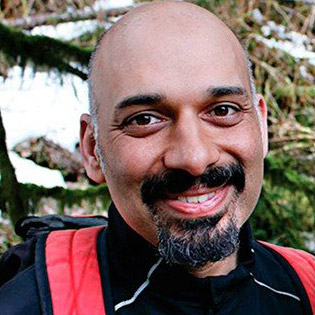 Dr. Faisal Moola. Associate Professor and author, Guelph.