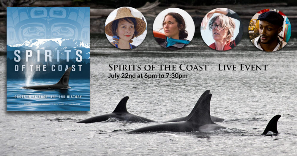 Jess Housty, Misty MacDuffee and others on a panel about the book, Spirits of the Coast.