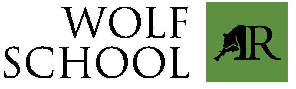 Wolf School logo.