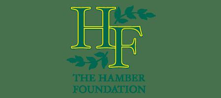The Hamber Foundation logo.